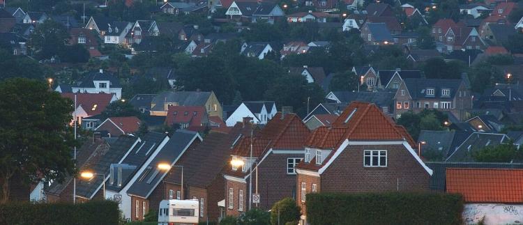 Gennemsnitlig salgstid på huse på over 300 dage i 5 danske kommuner