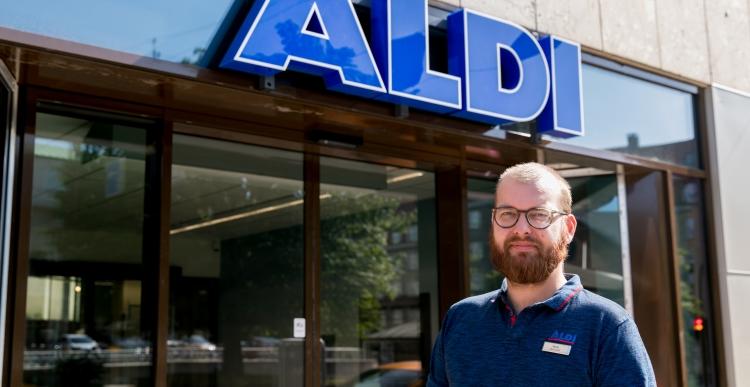 Ny Aldi på 1.010 kvm åbner i gammel bank  i Aarhus