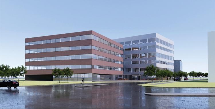 Pensionsselskab vil bygge 11.600 kvm kontor og parkering i Kolding