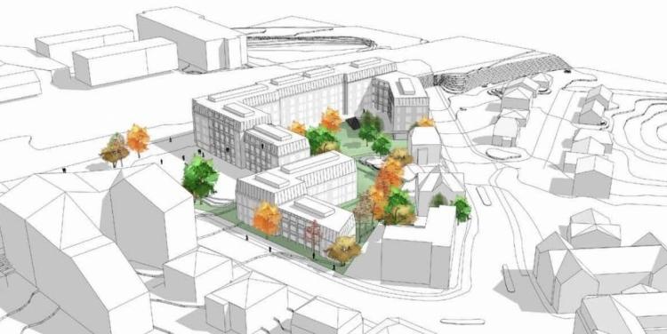 Udvikling af boliger på Posthusgrunden i Hillerød