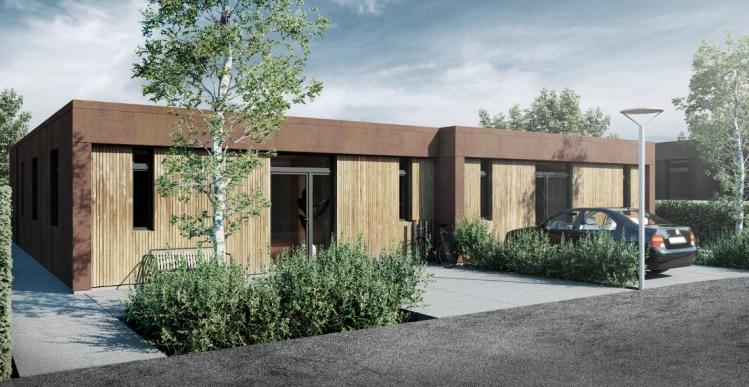 22 rækkehuse ved Aarhus sat til salg