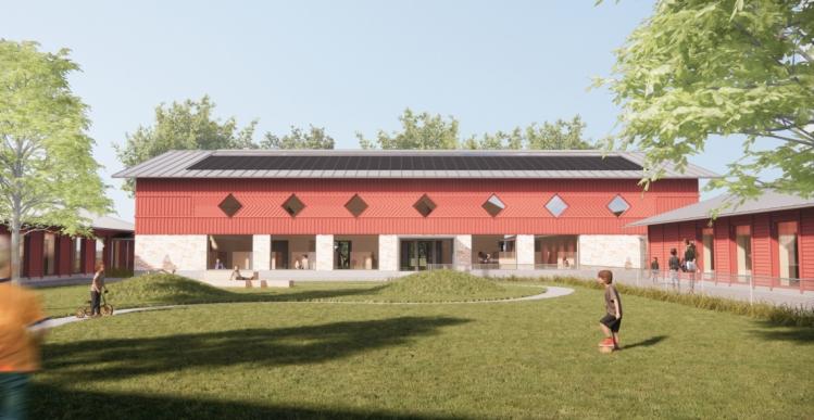 Elindco bygger klimaneutralt børnehus til 38 millioner