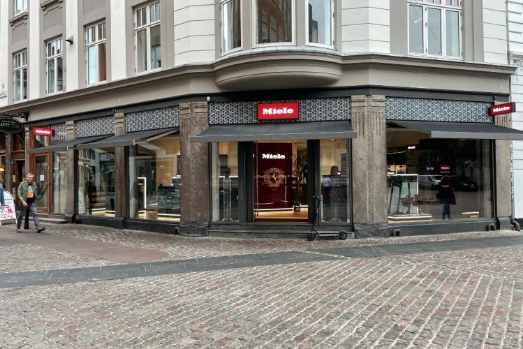 Miele åbner 500 kvm showroom midt i Aarhus
