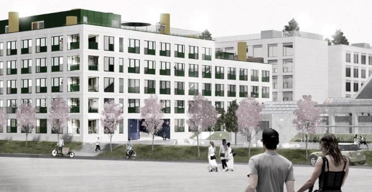 JCN Bolig skal bygge 319 ungdomsboliger i Aarhus