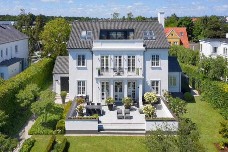 Danmarks dyreste: Villa sat til salg for 68 millioner