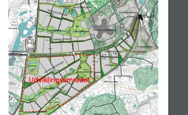 Fodboldklubben FCN og Propreco bygger 2.500 boliger og fodboldpark i Hillerød