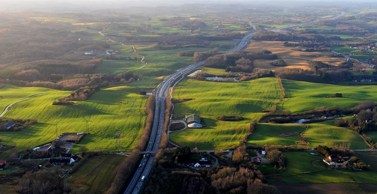 M. J. Eriksson udbygger 13 kilometer motorvej på Fyn