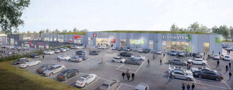 Udvikler bygger 16.000 kvm butiksområde i Næstved