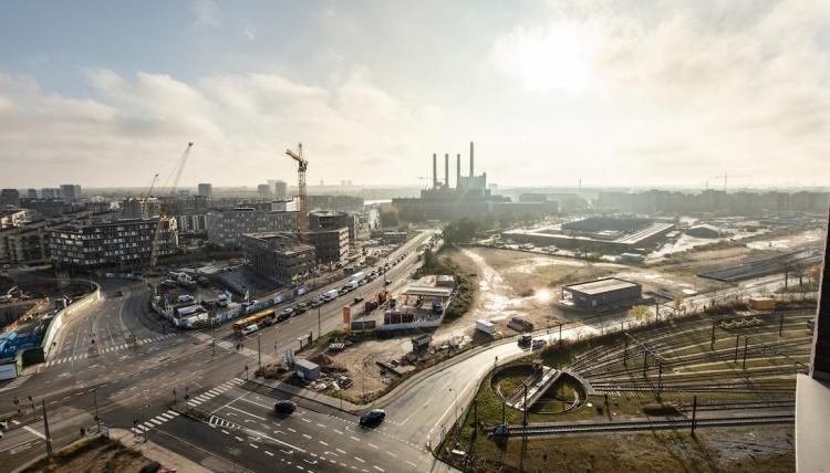 Udvikling af ny bydel på industriareal i København
