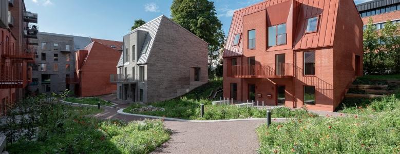 Øgadekvarteret i Aarhus har fået 146 boliger og...