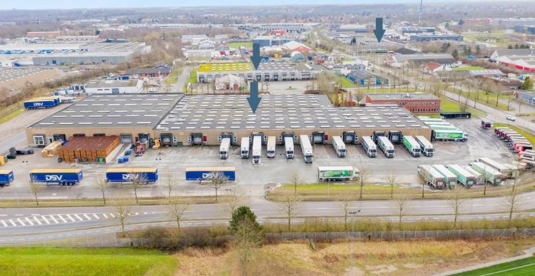 Lager- og logistikejendomme på 18.000 kvm i Odense solgt