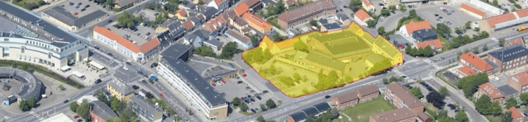 Stor industrigrund midt i Frederikssund til salg til boligbyggeri