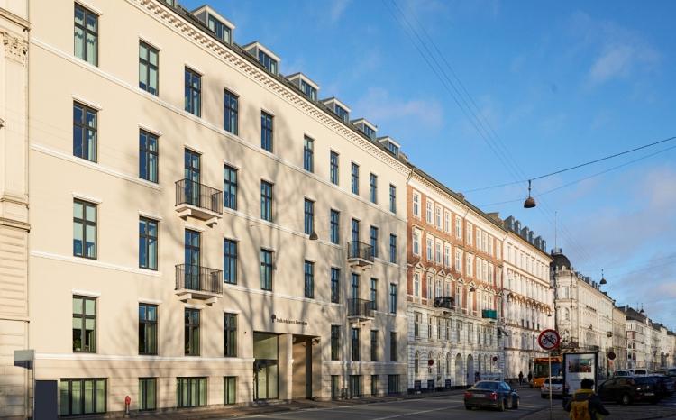 Industriens Pensions 140 år gamle hovedsæde DGNB-certificeres efter nye standarder