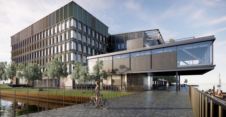 AP Pension i entrepriseaftale om erhvervsbyggeri til 1,6 milliarder i Nordhavn