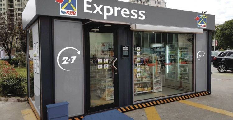 Kæde vil have 200 ubemandede dagligvarebutikker