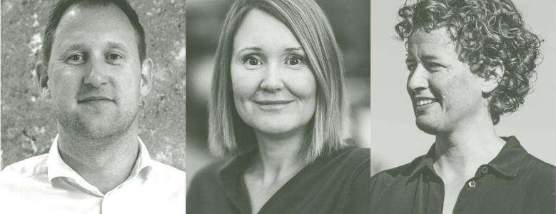 Erik Arkitekter udnævner 3 nye associerede partnere