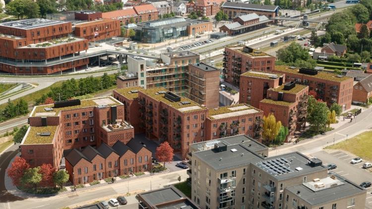 AP Pensions 122 svanemærkede boliger i Viborg tager form