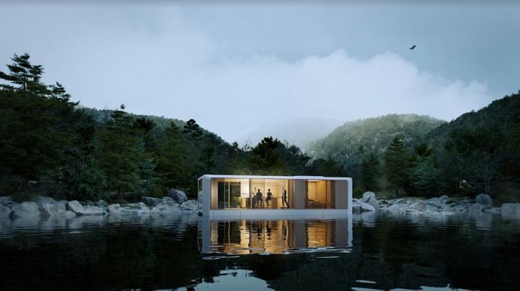 Fremtidens modulbyggeri: Boliger og hoteller på vandet