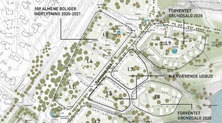 Roskilde sætter 2 storparceller til salg