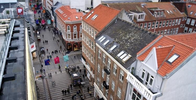 Færre tomme butikker i Aarhus og Østjylland