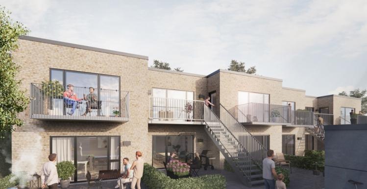Boligprojekt med 110 nye lejligheder i Aarhus er klar til udlejning