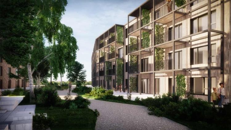 Omdannelse af militærdepot i Odense til boliger