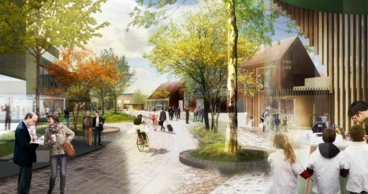 Plan for 54.400 kvm boliger og erhverv i Rudersdal Kommune på tegnebrættet