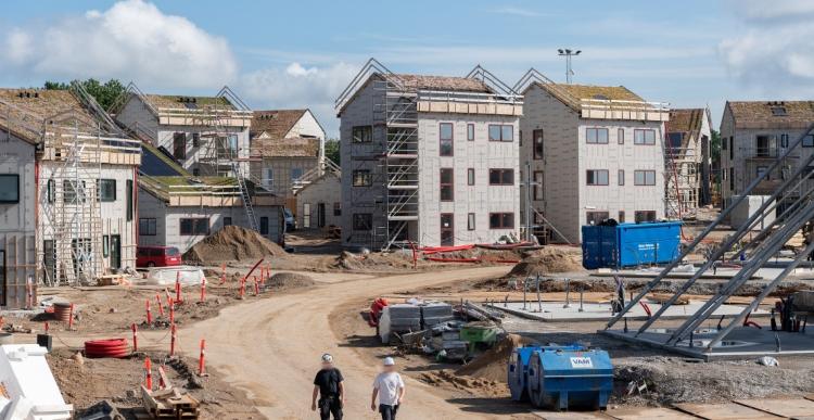 Upcyclede materialer til 215 nye boliger i Aarhus