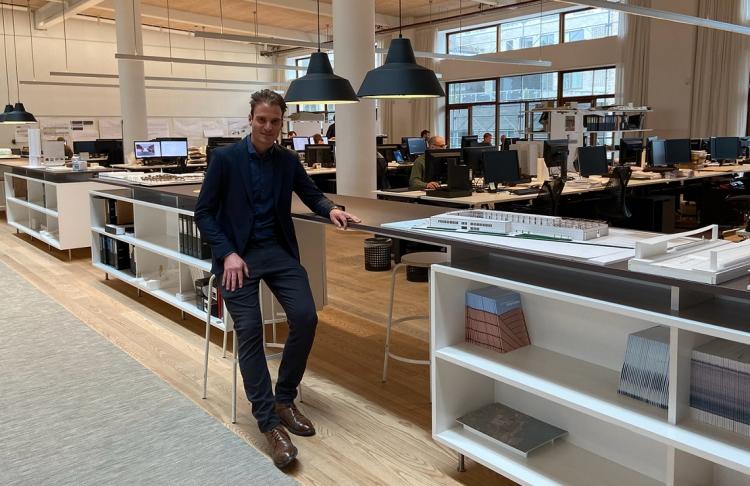 Civilingeniør er ny tegnestuechef hos Gottlieb Paludan Architects
