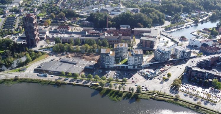 Pensionsselskab klar med 113 boliger i Silkeborg