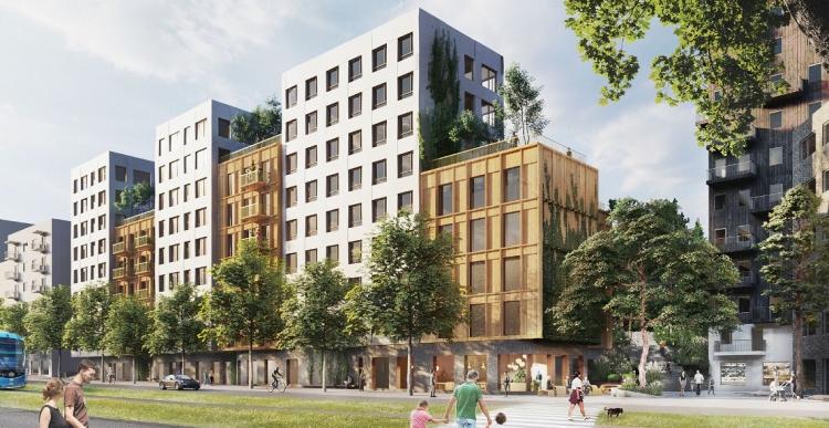 C.F. Møller vinder projekt med 300 træboliger