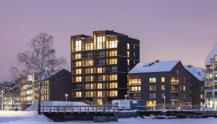 JYLLAND: TRÆ - højhusbyggeri og større projekter - udfordringer, løsninger og økonomi