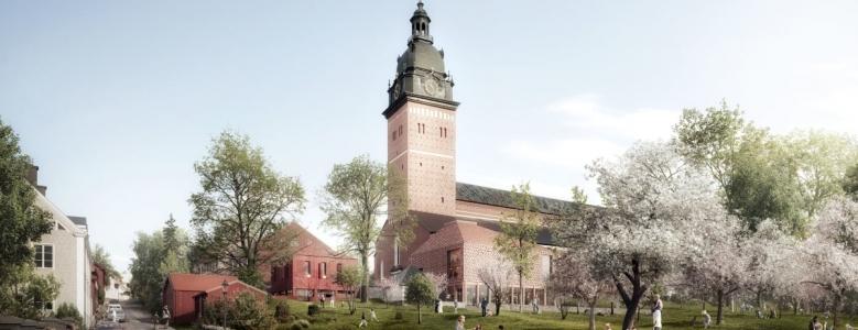 Danske arkitekter skal udvikle svensk domkirke