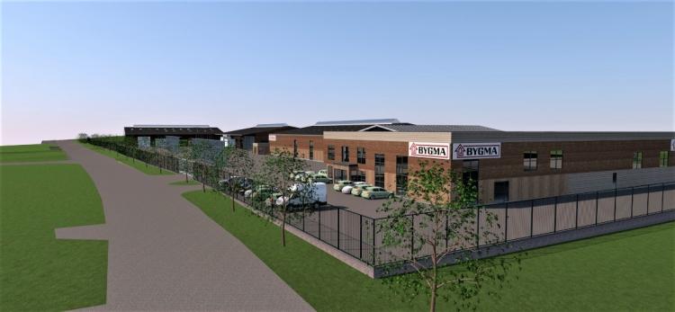 Nyt DGNB-certificeret tømmerhandel- og logistikcenter på 10.000 kvm i Svendborg