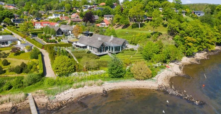 Jyllands dyreste villa sat til salg for 49,5 millioner