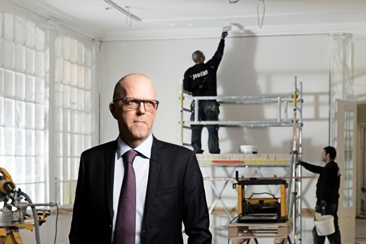 Jeudan åbner showroom på Bredgade