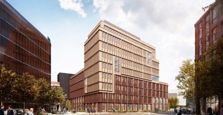 PFA bygger 8.600 kvm kontorhus på Nordhavn