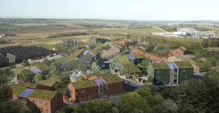 Propstep skal udleje 215 bæredygtige boliger i Lisbjerg