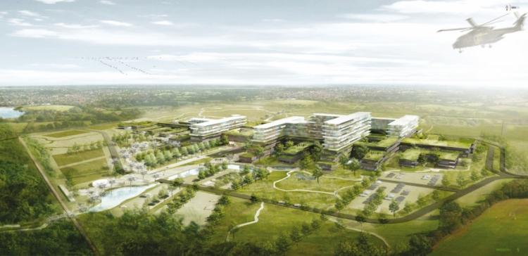 Ny tidsplan: Midtjysk supersygehus klar i sommeren 2021