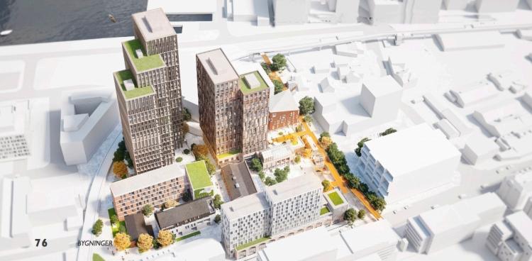 Byggemuligheder i Sydhavnskvarteret i Aarhus øges til 89.000 kvm