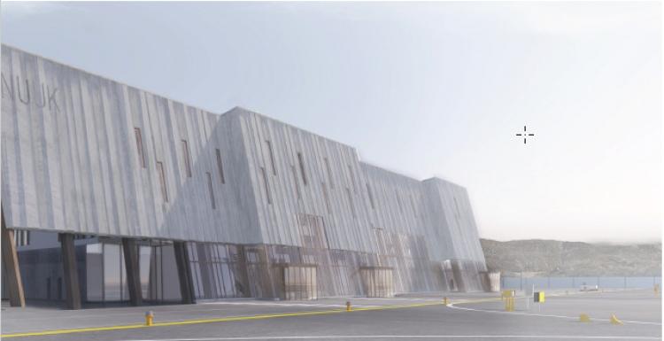 MT Højgaard bygger 3 bygninger i Nuuks nye lufthavn