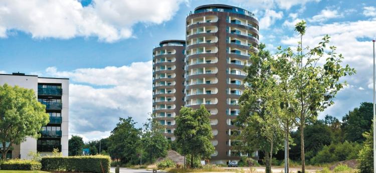 Gang i hjulene: 2 boligprojekter med 126 boliger udlejet i Herning og Randers