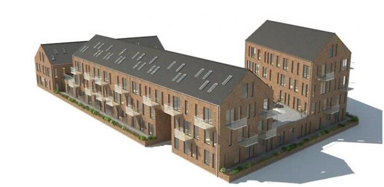 Vil bygge 46 boliger i  Vordingborg for 50 millioner
