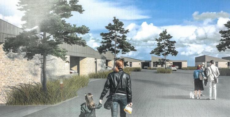 Grønt lys til 50 boliger i lille nordjysk vækstby