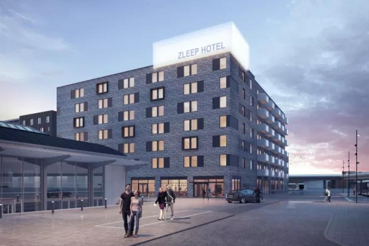 Michael Sheikh fra Momentum+ taler om nyt hotel og boliger i Hillerød