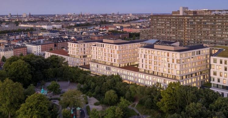Tilbygning på 65.000 kvm på Rigshospitalet er Europas bedste i 2021