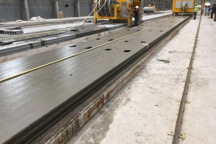 Nu går mindre beton til spilde
