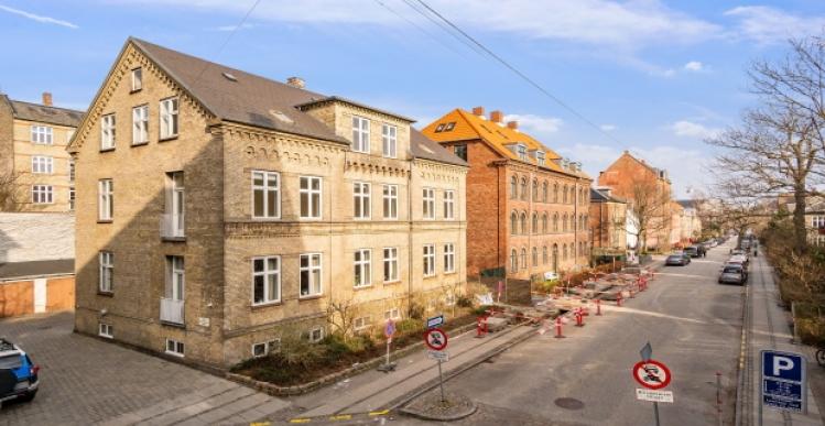 Ejendom på Frederiksberg solgt for 23 millioner kr.
