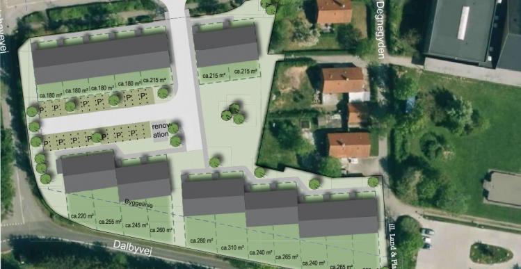 Lokal bilhandler vil omdanne sjællandsk skolegrunde til rækkehuse