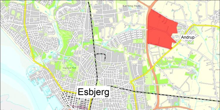 Facebook køber grund i Esbjerg for 277 millioner